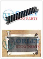 For Mazda R100/Familia Rotary 1000 1200 1300 10A/12A Aluminum Radiator&oilcoole