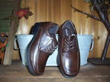 ROBERT DAVID BOYSTODDLER DRESS SHOES SIZE 10 WIDE BROWN FORMAL EASTER SHOES NEW