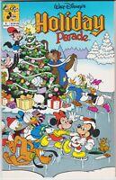 WALT DISNEY'S HOLIDAY PARADE (Disney, 1990 Series) #2 Dec-1991 NEAR MINT