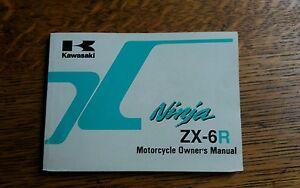 KAWASAKI  Z X 6   G2  H2 OWNERS MANUAL/HANDBOOK