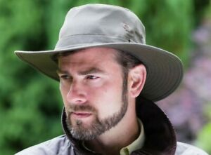 Brand New Men's Olive Green Wax Outdoor Bush Waterproof Fishing Hat Colombia
