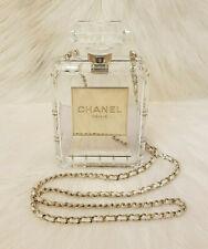 ALDO Black Lace Perfume Bottle Bag | eBay