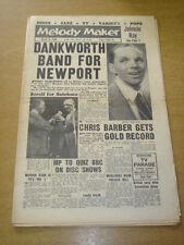 MELODY MAKER 1959 MARCH 14 JOHNNY DANKWORTH NEWPORT JAZZ LOUIS ARMSTRONG +