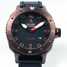 BALDIERI, MEN'S, AUTOMATIC, 48MM, MAGNUM M-48 DIVER, COFFEE CASE, 20ATM,