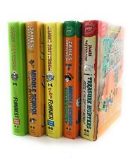 James Patterson Middle School Books Collection Lot Hardcover 5 Set 1st Edition