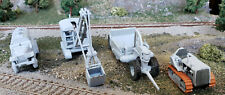 HO 1/87 scale US Navy Seabees vehicles #3, heavy construction set! 3d printed!