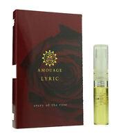 Amouage 'Lyric' Eau De Parfum Spray For Woman .05oz Carded Vial(OriginalFormula)