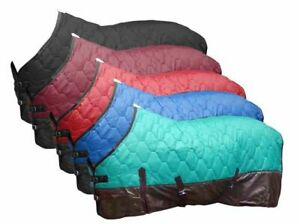 Showman 420 Denier Quilted Nylon Rip Stop Contoured Stable Horse Blanket