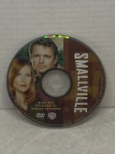Smallville season 1 Disk 6 Only replacement  Disk dvd