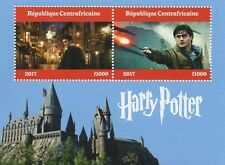 HARRY POTTER MOVIE CENTRAFRICAINE 2017 MNH STAMP SHEETLET