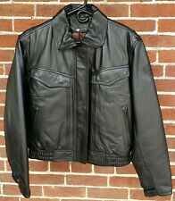 FIRST GEAR Scout III Leather MOTORCYCLE JACKET w/Liner Size 40W NEVER WORN