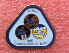 Pins ÉCUSSON Patch NASA TDRSS COMMUNICATION SATELLITE Vintage Badge Lapel Pin
