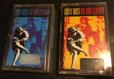 Guns n' Roses - USE YOUR ILLUSION 1 & 2 Cassette Album Geffen TESTED Good Cond.