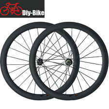 Disc Brake Wheels 700C 50mm Clincher Road Bike Carbon Cyclocross Carbon Wheelset