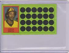 1981 TOPPS SCRATCH OFF OZZIE SMITH CARD #68 ~ MULTIPLES AVAILABLE ~  L@@K!!!