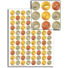 Think Tank Tokens Mini Stickers Eureka Eu-623305