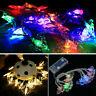 10LED Bat Fairy String Light Xmas Halloween Party Garden Garlands Lamp Decor