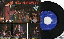 """DUO DINAMICO - Escala En Tenerife, 7"""" EP RARE SPAIN 1964 FIRMADO"""