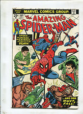THE AMAZING SPIDER-MAN #140 (7.0) 1ST GLORY GRANT, AND ONE MUST FALL!  1974