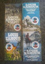 LOUIS L'AMOUR BOOK LOT VINTAGE WESTERN PAPERBACKS Western Novels COWBOY STORIES