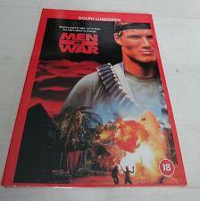 Pappschuber | MEN OF WAR | Dolph Lundgren DVD | uncut 99 Min. | FSK 18