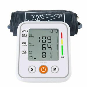 Automatic Blood Pressure Monitor Medium Cuff Upper Arm Digital Voice BP Machine