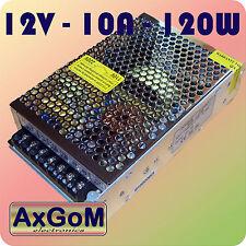 LED Netzteil - 12V 120W 10A - Schaltnetzteil-2 Ausgänge