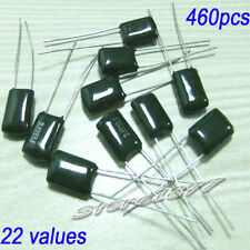 22 Values 460pcs 250V-1KV Polyester poly Film Capacitors Assorted Kit