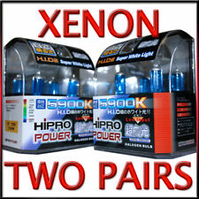 XENON HID HALOGEN HEADLIGHT BULBS FOR 2013 2014 CHEVROLET MALIBU- LOW+HIGH BEAM