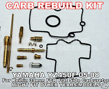 CARBURETOR CARB REBUILD KIT MAIN JET GASKET NEEDLE KEIHIN 39mm FCR MX Carborator
