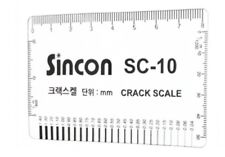 """NEW""  Sincon  SC-10 Crack Scale Gauge for Crack Monitoring -Freeship"