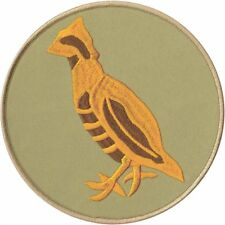 BOY SCOUT OFFICIAL BOBWHITE PATROL JUMBO EMBROIDERED JACKET DISPLAY PATCH EMBLEM