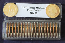 2007 S President JAMES MADISON  20 Proof Presidential Dollazr In Coin Keeper
