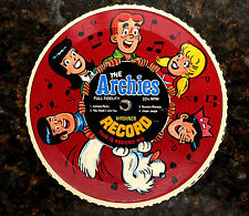 The Archies cardboard record. 1970s Alpha-Bits Disk #1