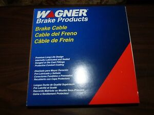 New Wagner Brake Cable F116480 BC116480 ( DN936 DS1267 B1 )