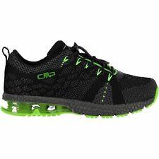 CMP Trainers Sport Shoes Kids Knit Fitness Shoe Black Breathable Light