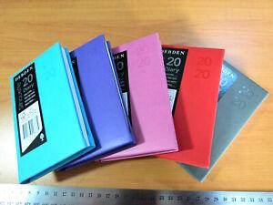 OLD Diary 2020 B7R  WTV Debden Silhouette Premium Quality - 5 Colour Choices
