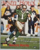 Signed Picture Derrick Mayes