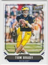 TOM BRADY 2018 Panini National NSCC Silver Pack Base #1 Wolverines