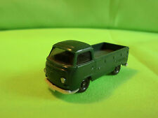 WIKING  -  PICK - UP     GREEN  -    VW BUS   IN GOOD CONDITION    VOLKSWAGEN