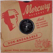 PATTI PAGE: Oklahoma Blues MERCURY ORIG 78 E+ w/ CO. SLEEVE Rare 1950