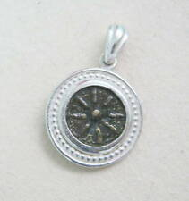 widow's mite replica coin silver pendant christian jewelry gift