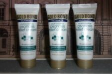 Gold Bond Psoriasis Relief Cream Travel Samples Lot Of 3 x 0.75 oz Tubes New