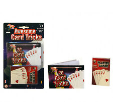Fun Awesome Card Tricks - Magic Magician Playing Cards Tricks Set Gift Game