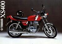 4001YA Yamaha XS 400 Prospekt 1979 1/79 deutsche Ausgabe brochure prospectus