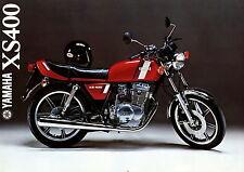 Prospekt 1979 Yamaha XS 400 1 79 Motorrad brochure Japan Motorradprospekt moto