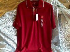 $60 TEXAS LU Lamar University Antigua Men's Cardinal Impact Polo Shirt MEDIUM