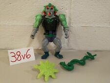 MOTU Snake Face Masters of the Universe He-Man Complete with Shield Figure Staff