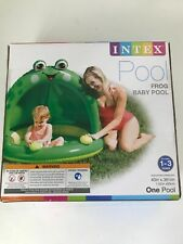 Frog Baby Pool by Intex 40x36 1-3 Years New