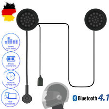 Radioddity Motorrad Helm Wireless Bluetooth 4.1 Kopfhörer Intercom Headphone